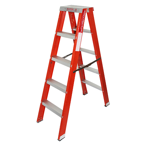 Double Sided Fiberglass A Ladder